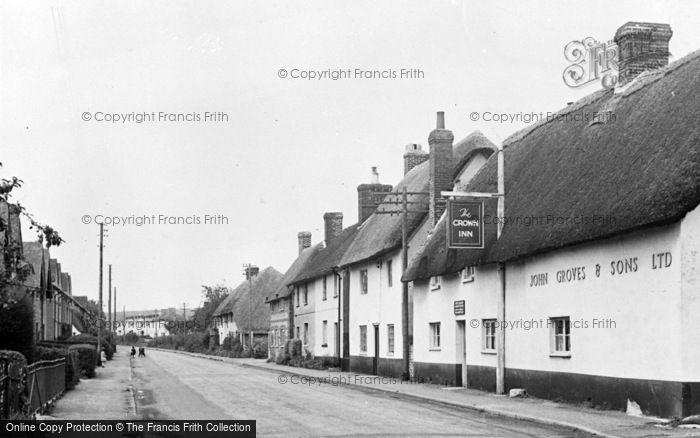 Photo of Winterborne Stickland, North Street c.1955