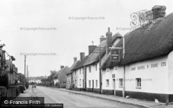 Winterborne Stickland, North Street c.1955