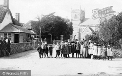 Winterborne Stickland, St Mary's Church c.1900