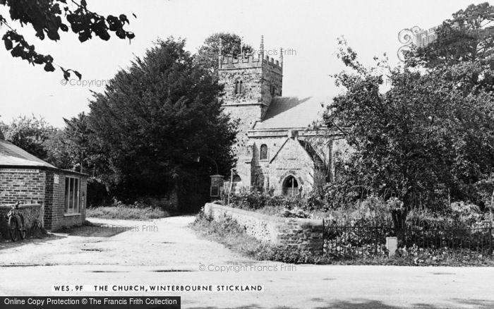 Photo of Winterborne Stickland, The Church c.1955
