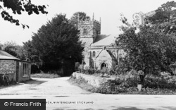 Winterborne Stickland, The Church c.1955