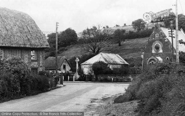 Photo of Winterborne Stickland, The Memorial c.1955