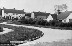 Winterborne Stickland, The New Houses 1955