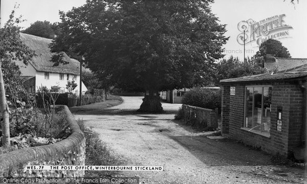Photo of Winterborne Stickland, The Post Office 1955