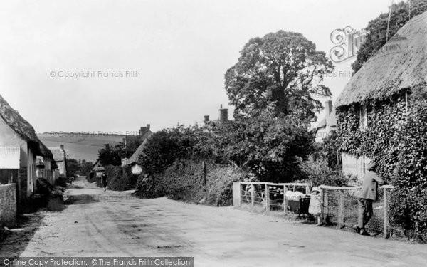 Photo of Winterborne Stickland, West Street c.1910