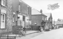 Winterton-on-Sea, Beach Road And The Chapel c.1950