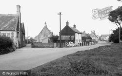 Winterton-on-Sea, Black Street c.1955
