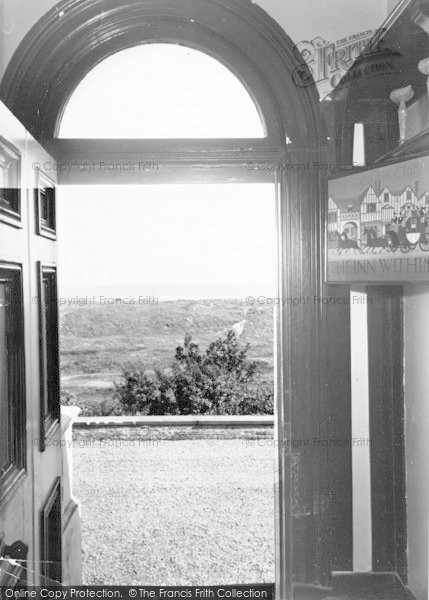 Photo of Winterton On Sea, Chalet Hotel And Country Club, View Of Sea From Hallway  c.1955