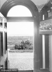 Winterton-on-Sea, Chalet Hotel And Country Club, View Of Sea From Hallway  c.1955