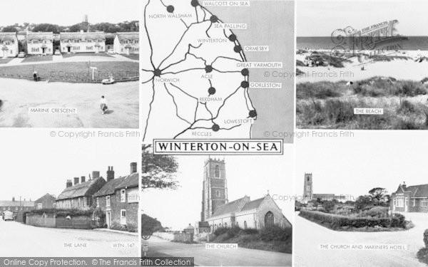 Photo of Winterton On Sea, Composite c.1960