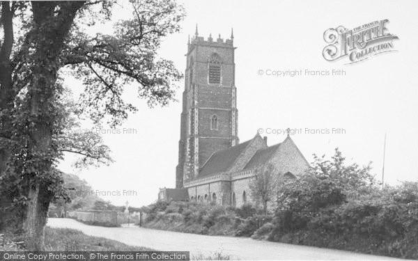Photo of Winterton On Sea, Holy Trinity And All Saints Church c.1955