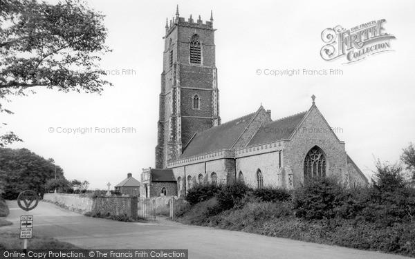 Photo of Winterton On Sea, Holy Trinity And All Saints Church c.1955