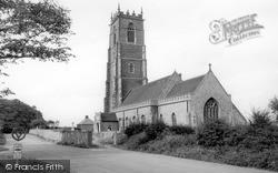 Winterton-on-Sea, Holy Trinity And All Saints Church c.1955