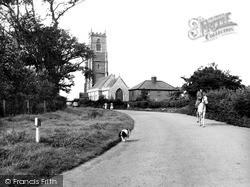 Winterton-on-Sea, Holy Trinity And All Saints Church c.1960