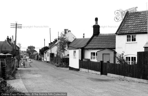 Photo of Winterton-on-Sea, King Street c1955