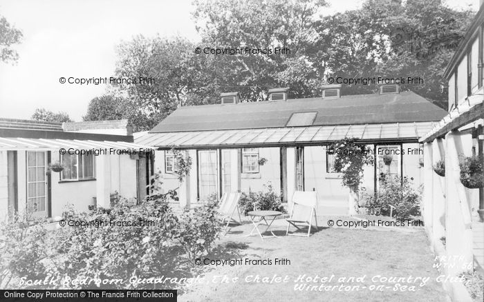 Photo of Winterton On Sea, South Bedroom Quadrangle, The Chalet Hotel And Country Club c.1960