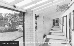Winterton-on-Sea, South Verandah, The Chalet Hotel And Country Club c.1960