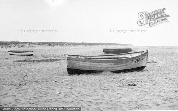 Photo of Winterton On Sea, The Beach c.1955