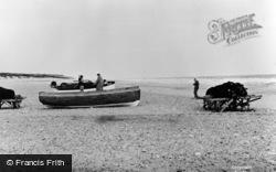 Winterton-on-Sea, The Beach c.1960