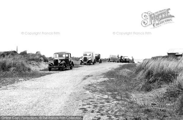 Photo of Winterton On Sea, The Beach Road c.1955