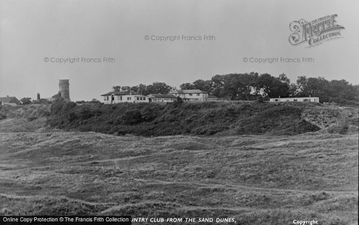 Photo of Winterton On Sea, The Chalet Hotel And Country Club From The Sand Dunes c.1955