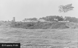 Winterton-on-Sea, The Chalet Hotel And Country Club From The Sand Dunes c.1955