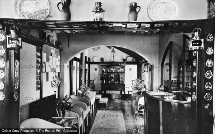 Photo of Winterton On Sea, The Entrance Hall, Chalet Hotel c.1950