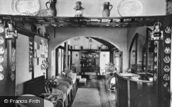 Winterton-on-Sea, The Entrance Hall, Chalet Hotel c.1950