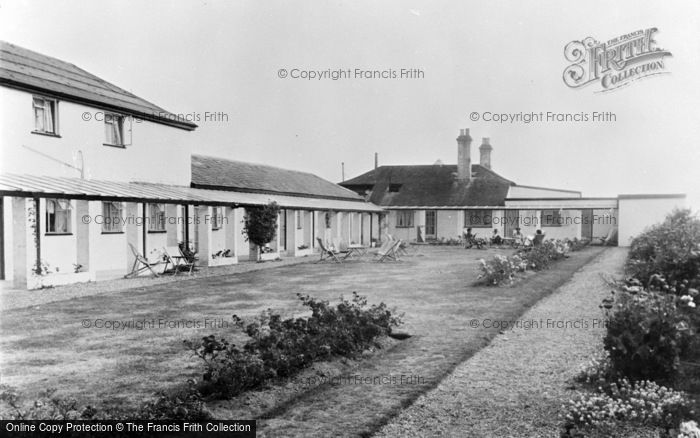 Photo of Winterton On Sea, The Gardens, The Chalet Hotel And Country Club c.1955