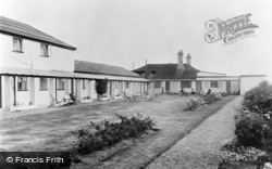 Winterton-on-Sea, The Gardens, The Chalet Hotel And Country Club c.1955
