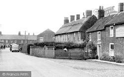 Winterton-on-Sea, The Lane c.1955