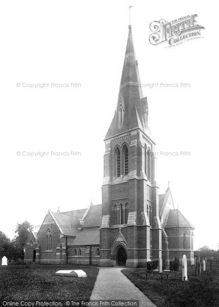 Photo of Winthorpe, All Saints Church 1890