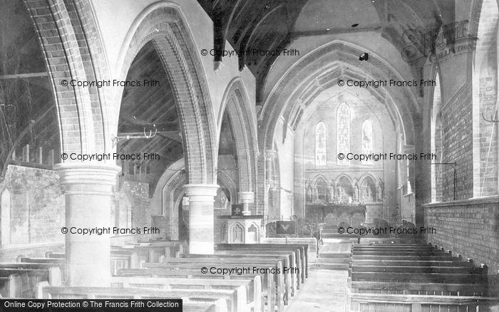 Photo of Winthorpe, All Saints Church Interior 1890