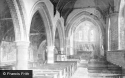Winthorpe, All Saints Church Interior 1890
