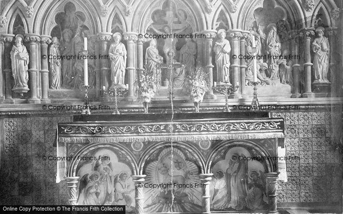 Photo of Winthorpe, All Saints Church, Reredos 1890