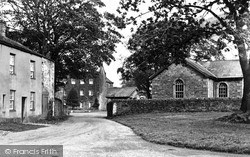 Manor And School c.1955, Winton