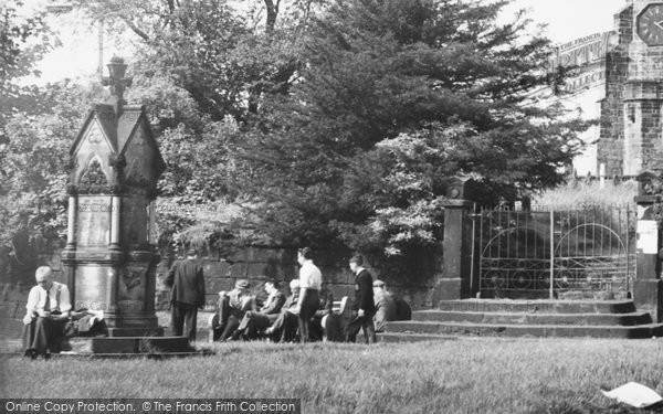 Photo of Winwick, Memorial c.1955