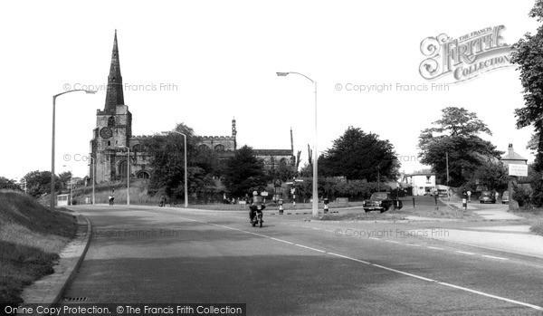 Photo of Winwick, St Oswald's Church c.1960