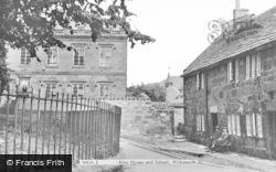 Wirksworth, Almshouses And School c.1955
