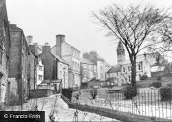Wirksworth, Church Walk c.1939
