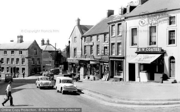 Photo of Wirksworth, Market Place c.1965