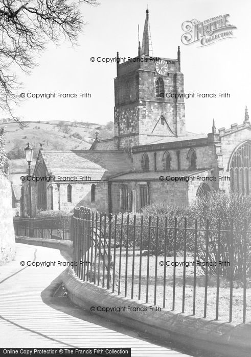 Photo of Wirksworth, St Mary's Church c.1939
