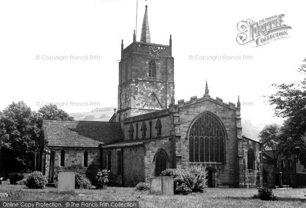 Photo of Wirksworth, St Mary's Church c.1960