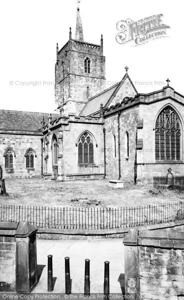 Photo of Wirksworth, St Mary's Church c.1960