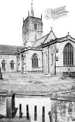 Wirksworth, St Mary's Church c.1960