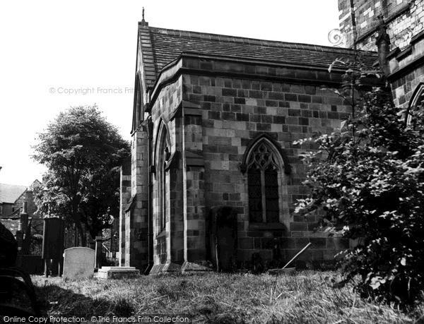 Wirksworth, Stone Coffins, St Mary's Church c1960