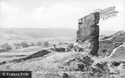 Wirksworth, The Alport Stone c.1960