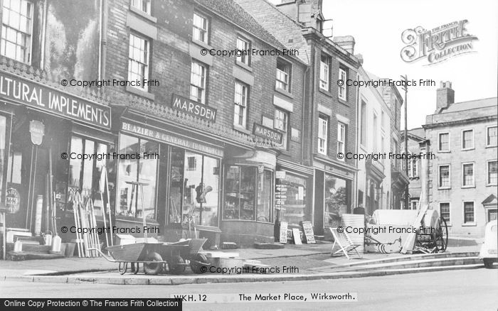 Photo of Wirksworth, The Market Place c.1960