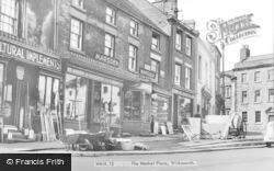 Wirksworth, The Market Place c.1960