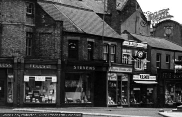 Photo of Wisbech, Bridge Street Shops c.1955
